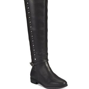 Rialto Ferrell Studded Over-The-Knee Boots, Size 7